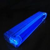 Schwarzlicht UV-Röhre Komplettset 45cm 15W ABS blau