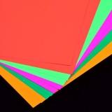 UV Schwarzlicht Neon Tonzeichenpapier