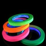 4x20m Set 1cm breit UV Schwarzlicht Neon Klebeband