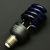 OMNILUX Schwarzlicht Leuchtmittel Energiesparlampe 25W E-27 spiral
