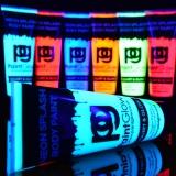250ml Schwarzlicht Körpermalfarbe Splash Party Neon Grün