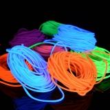 2mm Schwarzlicht Textil Leuchtschnur