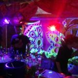 BRN Dresden Schwarzlicht Cocktail Stand