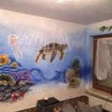 Aquarium Wandbild bei Taglicht - Foto: J. Wolf / Lupo-Art