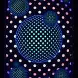 PSYWORK-Schwarzlicht-Stoffposter-Neon-Dots-Bubble-Balls-05x07m__59758588_01