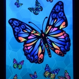 PSYWORK-Schwarzlicht-Stoffposter-Neon-Peace-Butterfly-05x07m__59754282_01