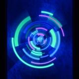 PSYWORK-Schwarzlicht-Stoffposter-Neon-Tunnel-Trip-05x07m__59758579_01