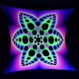 PSYWORK-Schwarzlicht-Segel-Spandex-Goa-Psychedelic-Flower-Yellow-25x25m__55314751_01