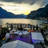 Schwarzlicht Full Moon Party Flüelen Schweiz