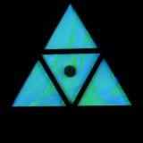 """StringArt Deko Dreieck - Mind Change System """"Little Planet Triangle"""""""