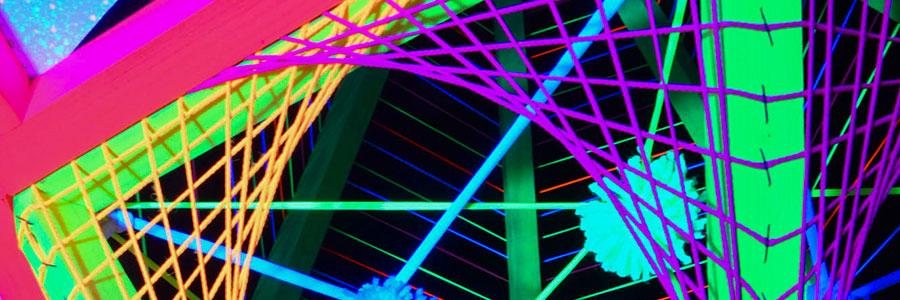 """Making Of 3D Stringart """"Neon Flower"""""""