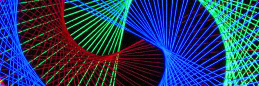 """Making Of 2D Stringart """"Neon Circle"""""""