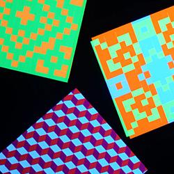 Schwarzlicht Psywork Pixel