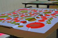 """Making Of Spandex Deko Segel """"Space Flower"""""""
