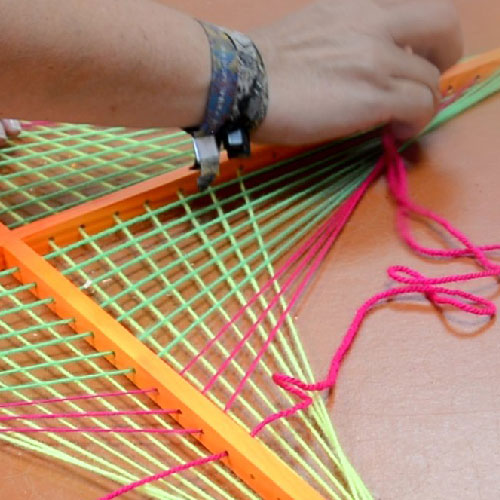 Making Of 2d Stringart Papagei