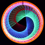 Making Of Stringart Neon Circle